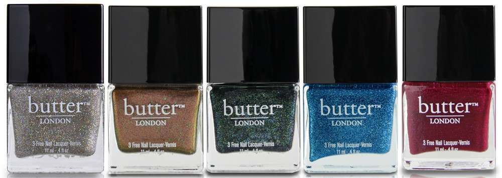 Nail art Natale, Butter smalti