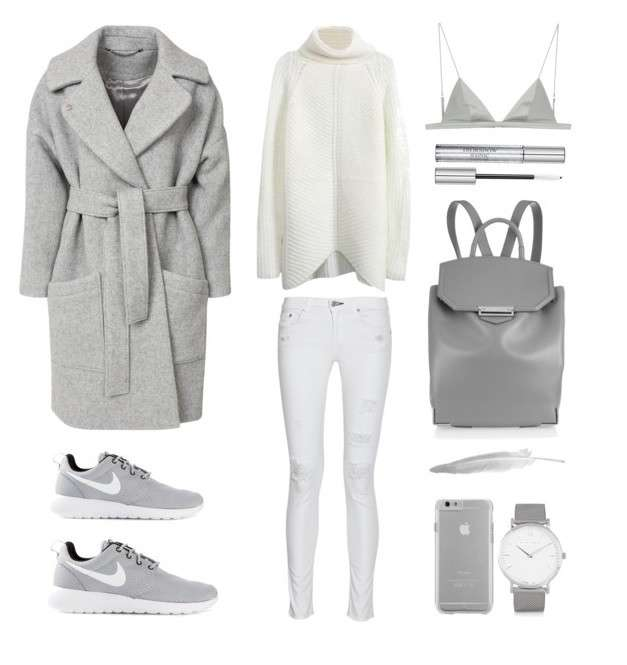 Grey sporty look