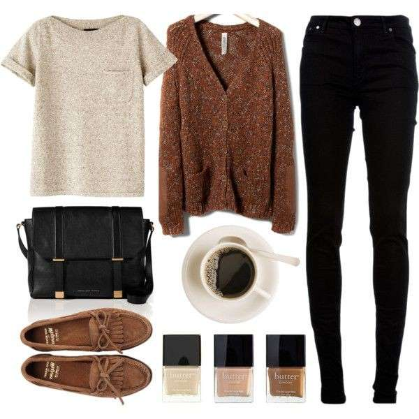 Neutral look