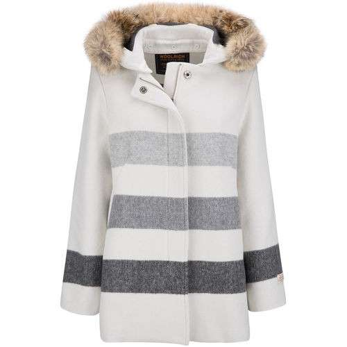 Cappotto a righe Woolrich