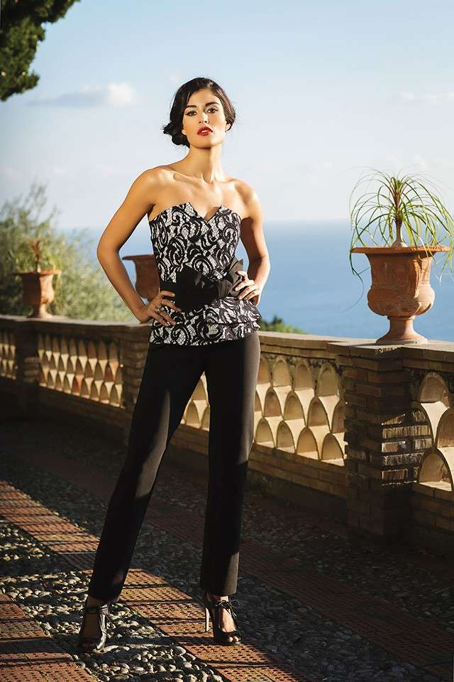 Bustier in pizzo