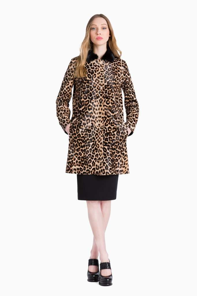 Cappotto animalier Twin Set Simona Barbieri