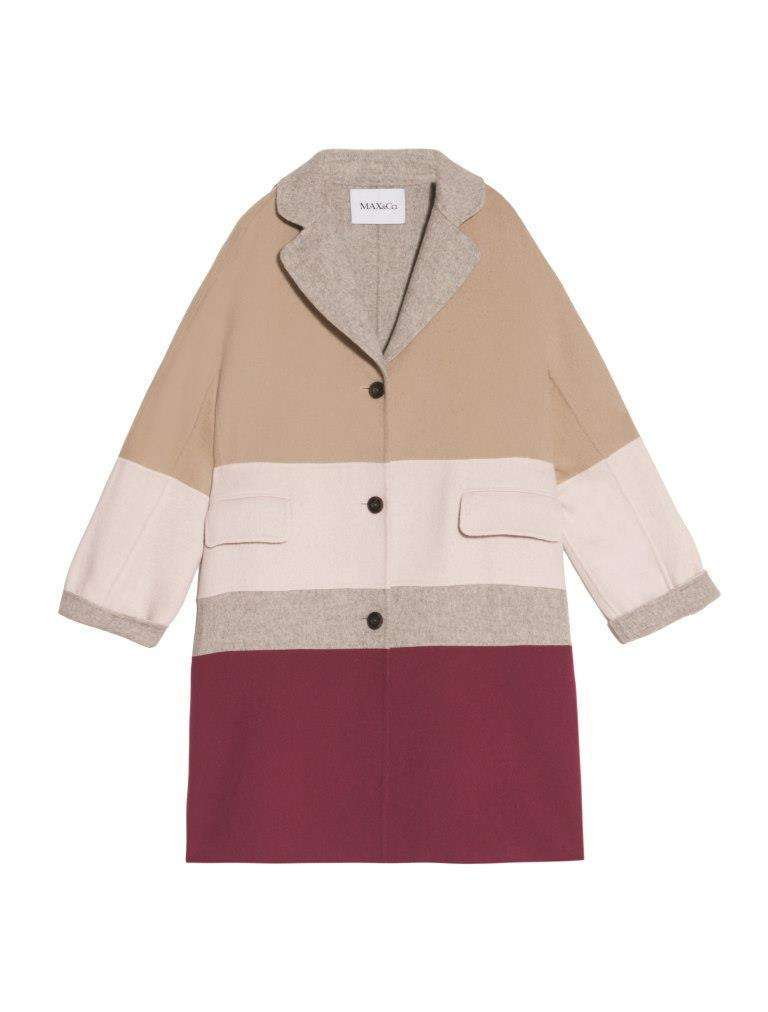 Cappotto color block Max and Co