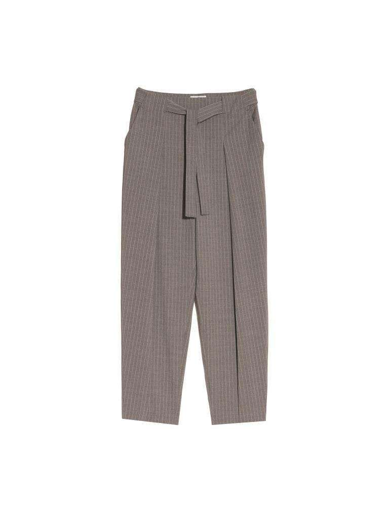 Pantalone gessato tortora Max and Co