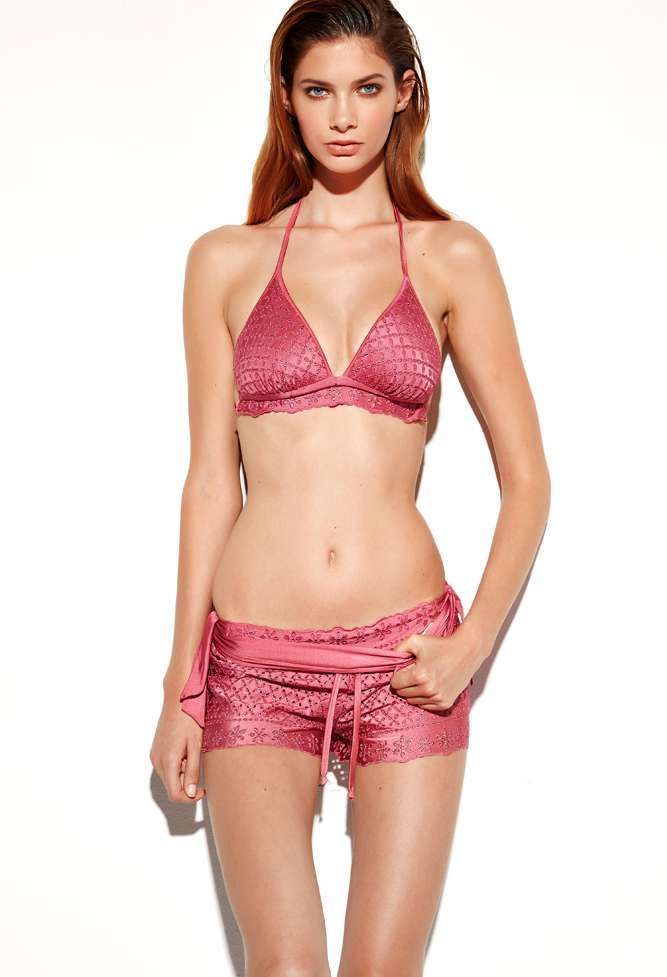 Costume sangallo rosa Twin Set
