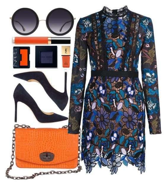 Romantic in Blue & Orange