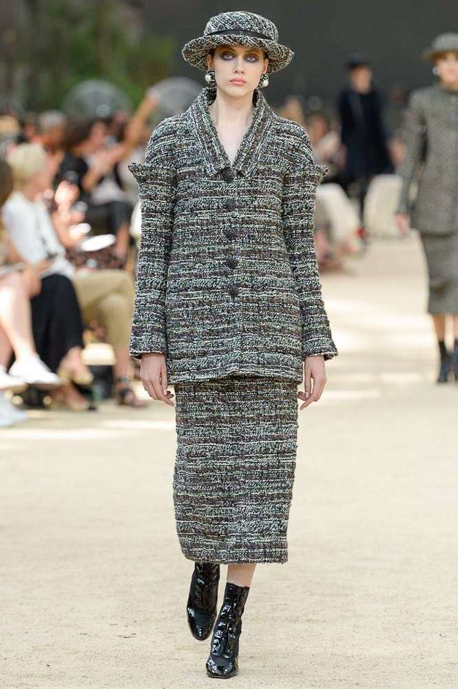 Coordinato in tweed Chanel