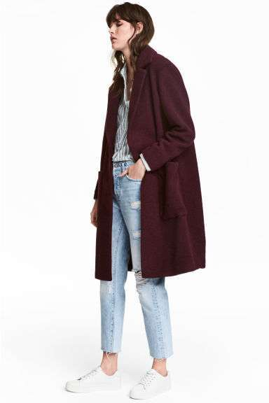 Cappotto burgundy H&M