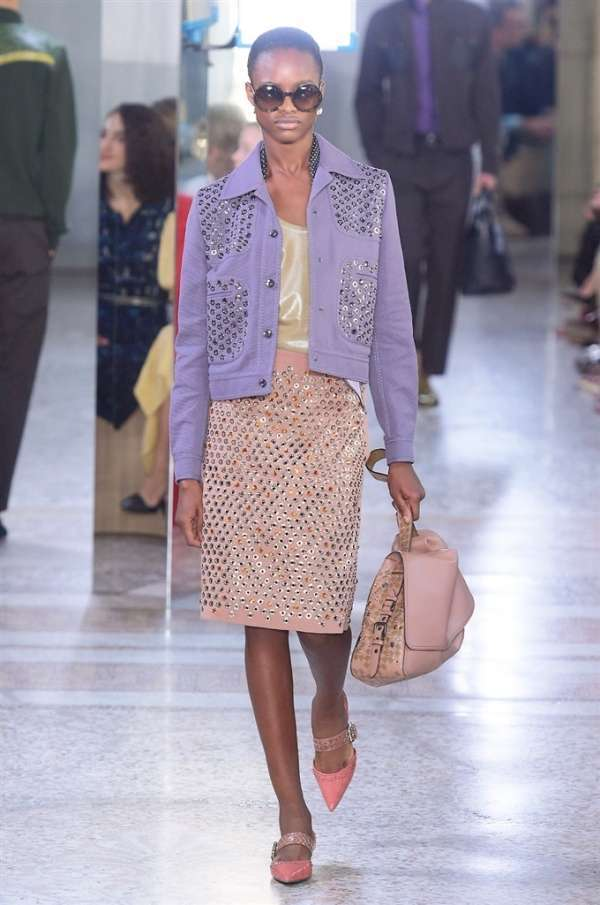 Look pastello Bottega Veneta