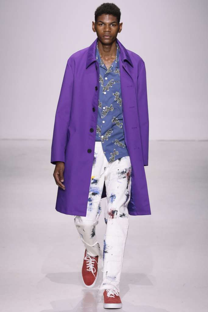 Trench Ultra Violet Ovadia & Sons