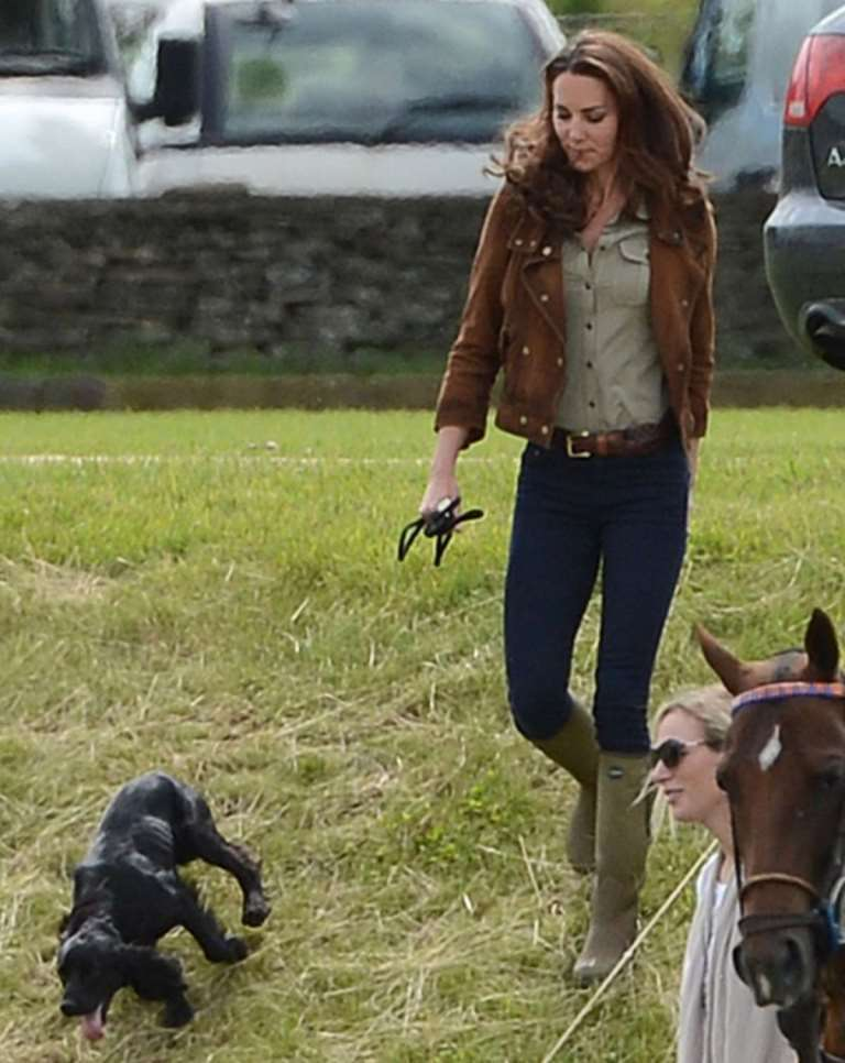 Kate Middleton  look country