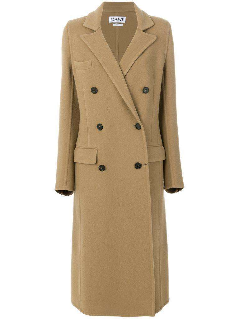 Loewe cappotto cammello