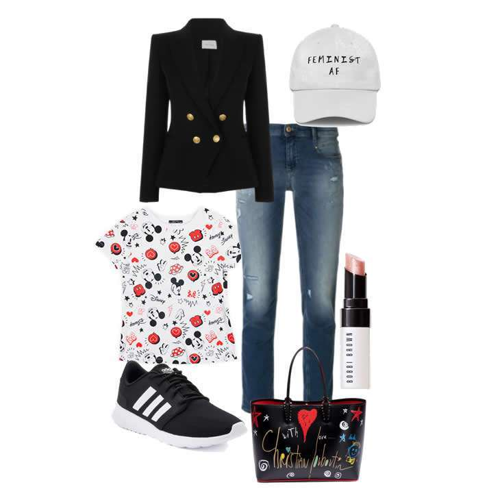 Look easy chic con Mickey Mouse