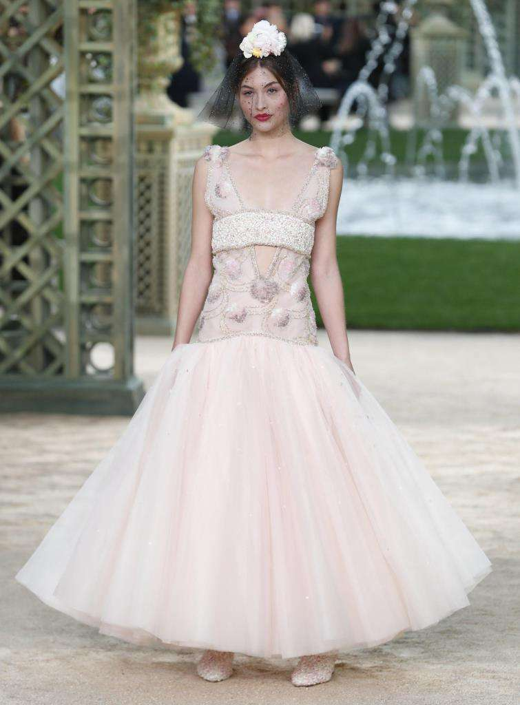 Look bridal Chanel