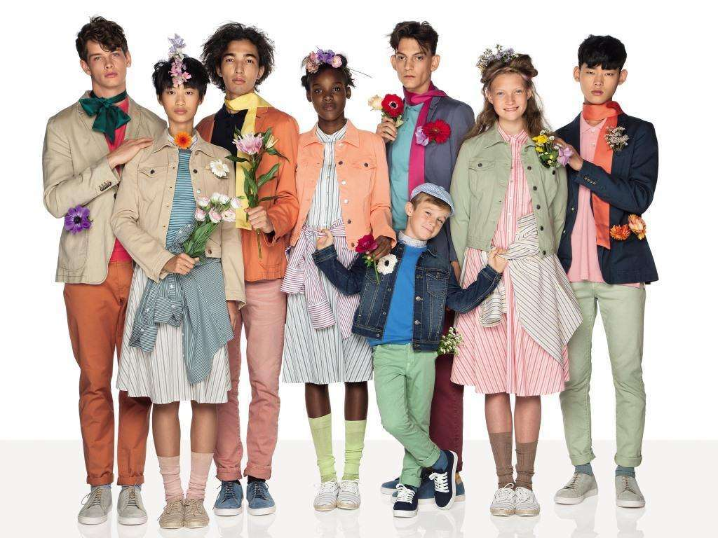 Look United Colors of Benetton by Oliviero Toscani