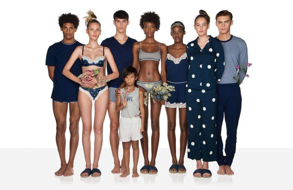 Intimo blu Undercolors of Benetton
