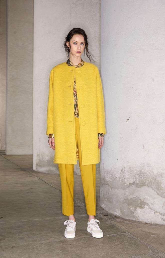 Look giallo Antonelli Firenze