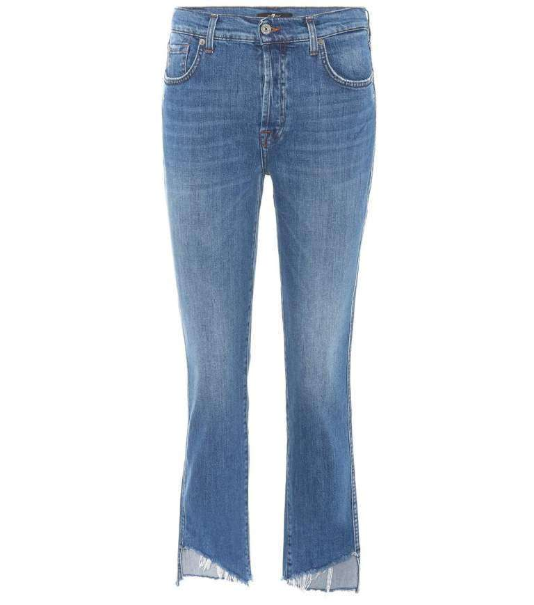 7 for all Mankind jeans orlo irregolare