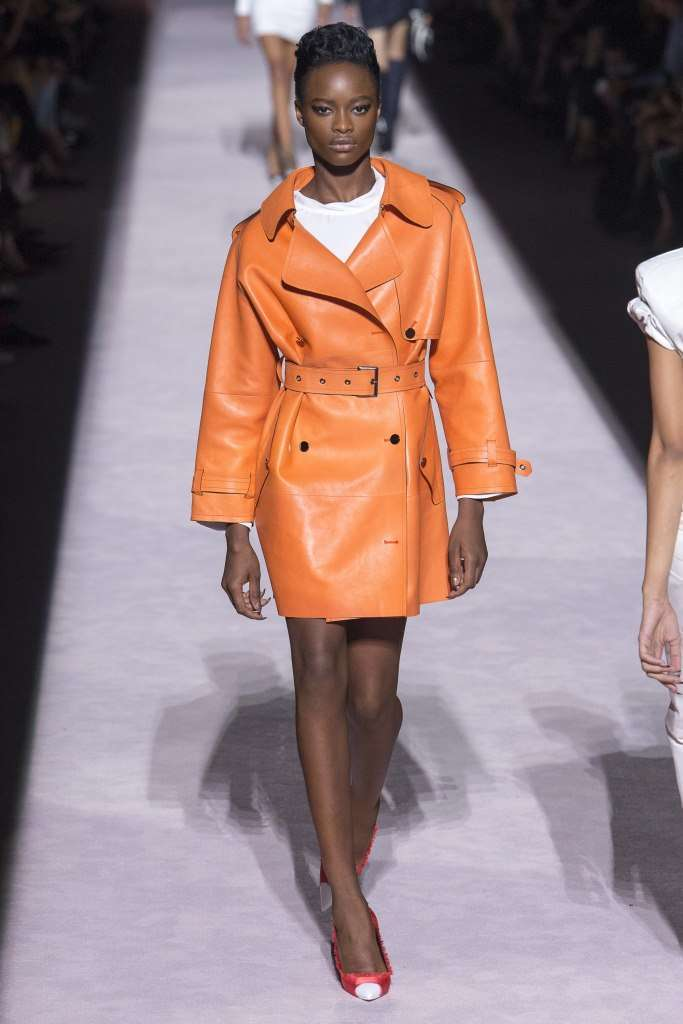 Tom Ford trench in pelle