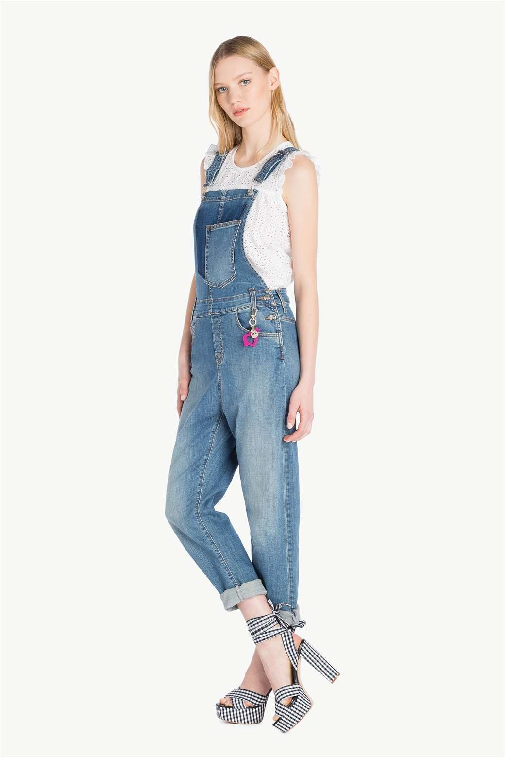 Salopette di jeans Twin Set