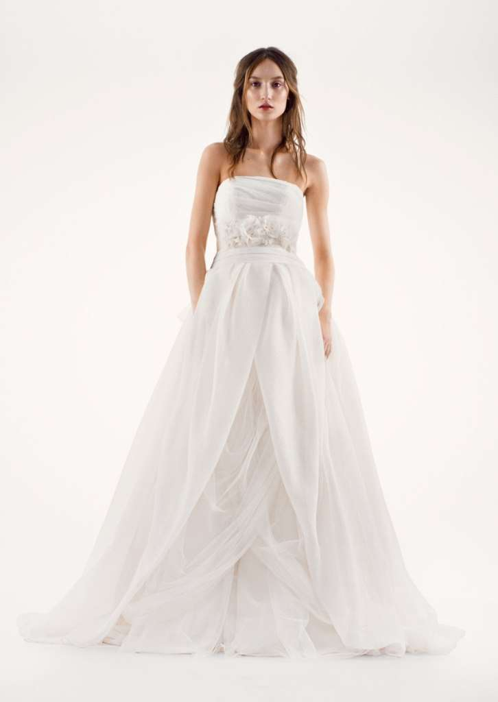 White by Vera Wang vestito da sposa