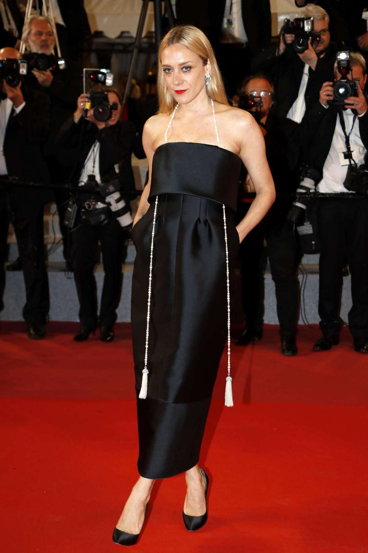 Chloe Sevigny in Chanel Couture