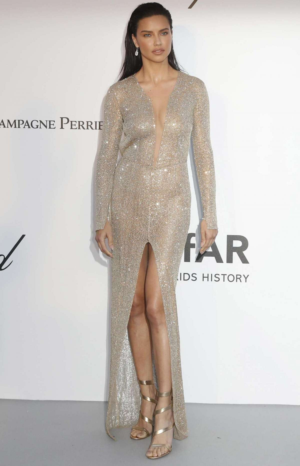 Adriana Lima in Julien Macdonald