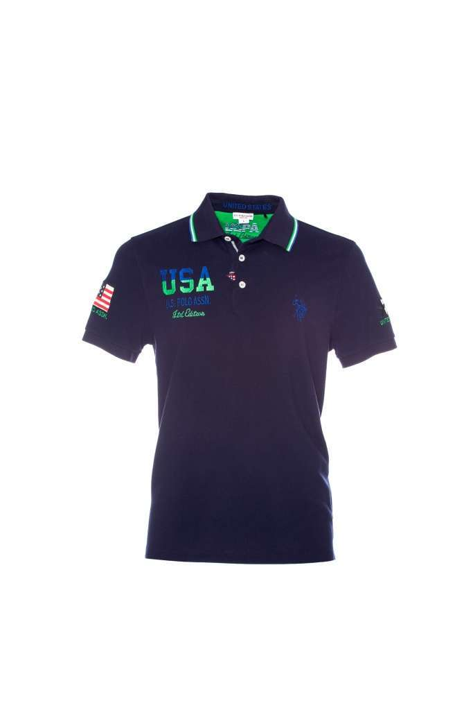 Polo blu US Polo Assn