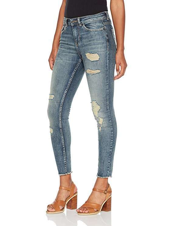 Jeans strappati cropped Tom Tailor