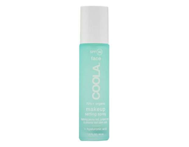 Spray fissante make up con SPF Coola