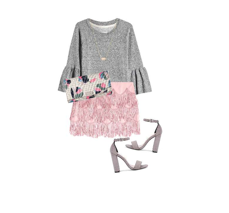 Look glam in rosa