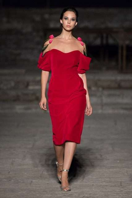 International Couture abito rosso