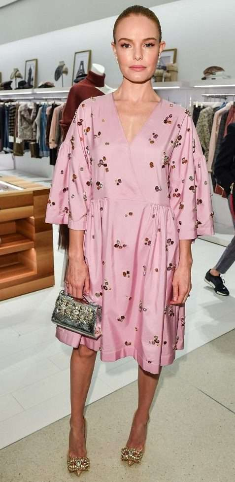 Look di Kate Bosworth in Mulberry