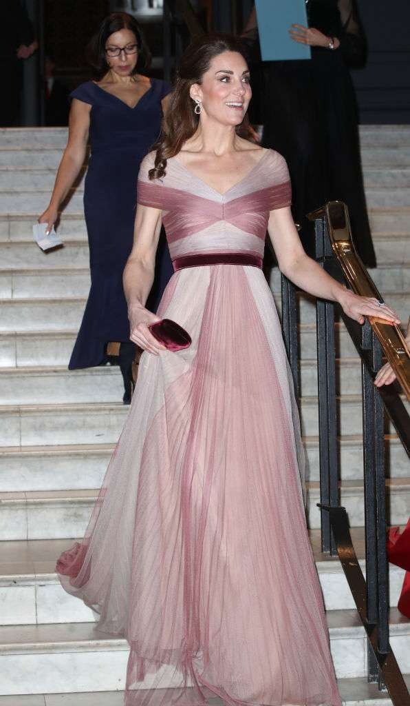 Look rosa di Kate Middleton