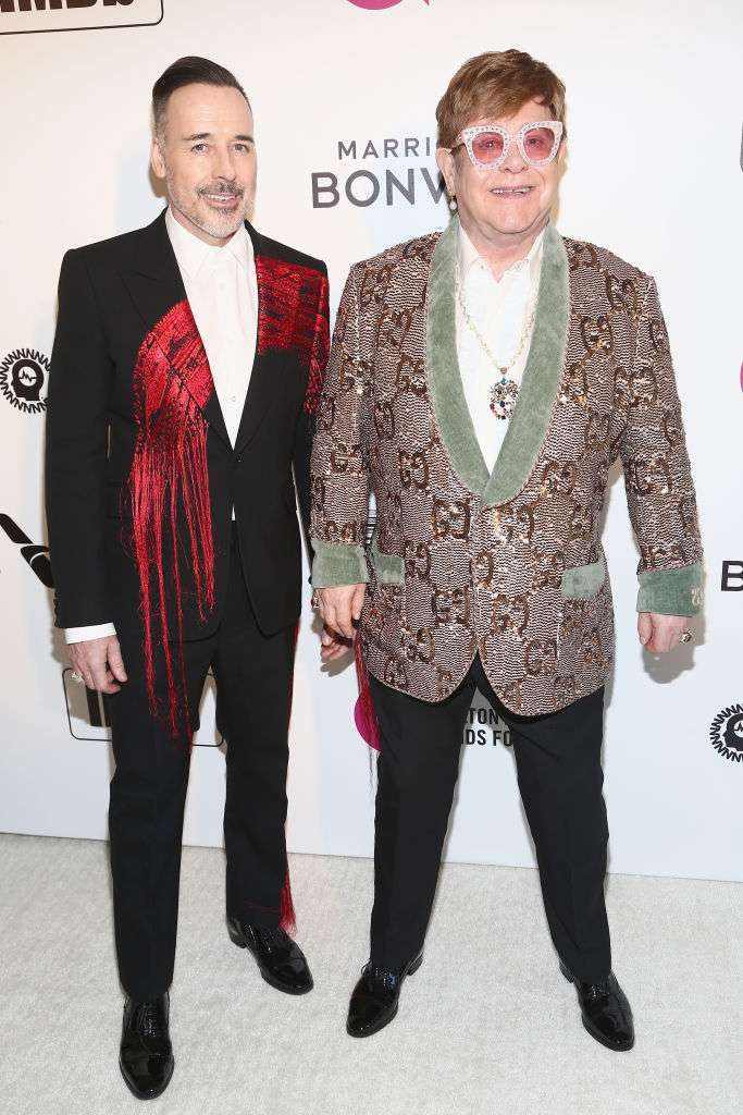 David Furnish e Elton John
