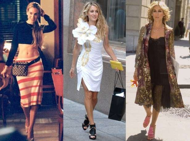 Carrie Bradshaw look