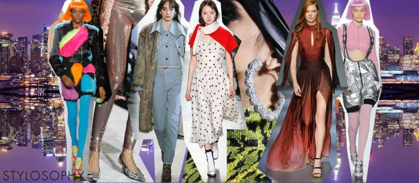 Tendenze moda Autunno-Inverno 2018-2019 dalla New York Fashion Week
