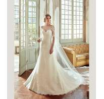 Bridal dress con maniche Nicole