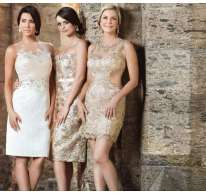 Minidresses eleganti in pizzo Impero Couture