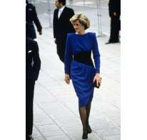 Look blu nero Lady Diana